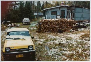 My dad's old cabin. Brimson, Minnesota c. 1965