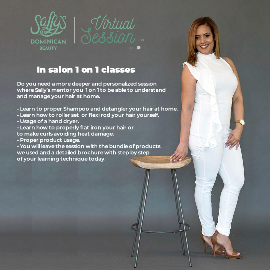 Sally's Salon 1 on 1