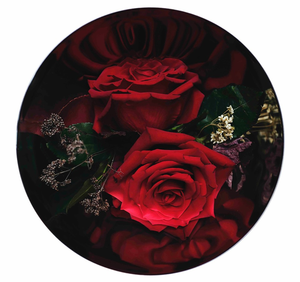 red rosebowl