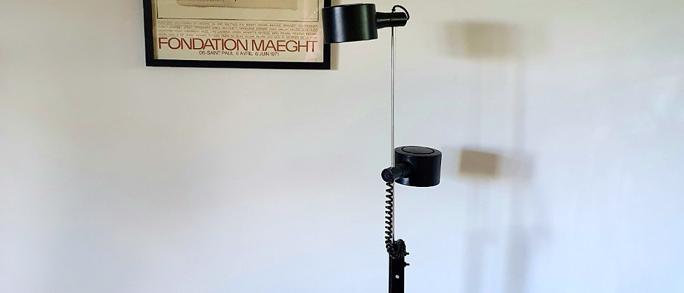 Vintage Floor Lamp by Ronald Homes for Conelight Ltd, 1970's