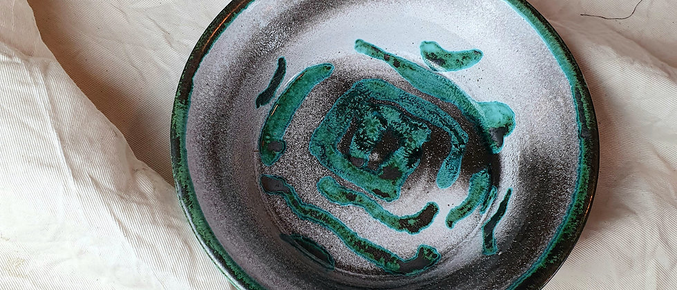 Vintage Pemberton Studio Pottery Dish