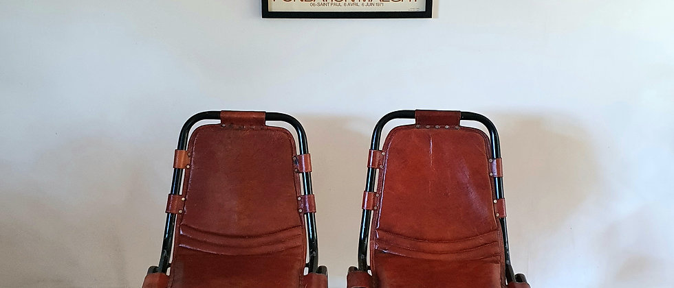 Pair of Les Arcs Style Chairs