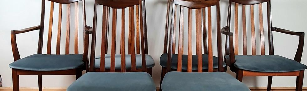 Set of 6 G Plan Fresco Chairs