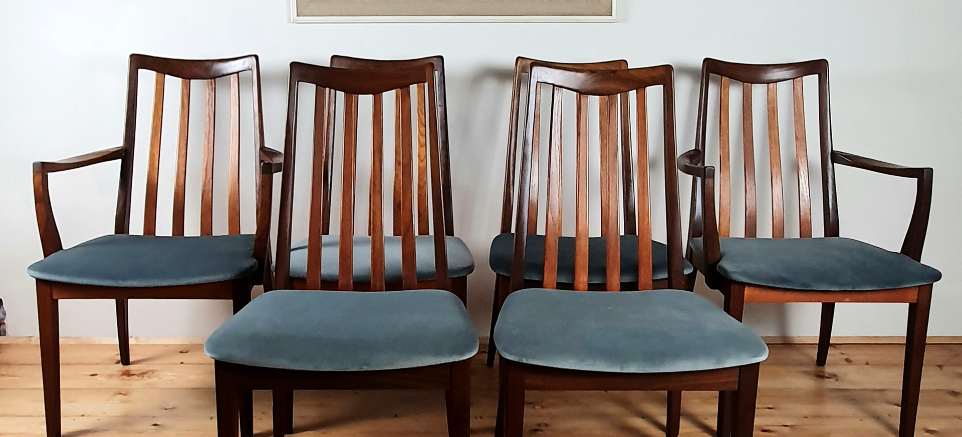 Set of 6 G Plan Fresco Chairs