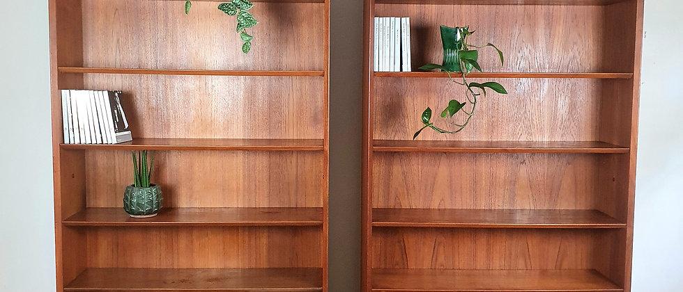 Pair of Teak Bookcases designed by Ib Kofod Larsen For G Plan