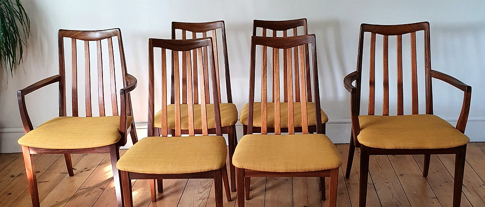 G Plan Fresco Dining Chairs 1960's