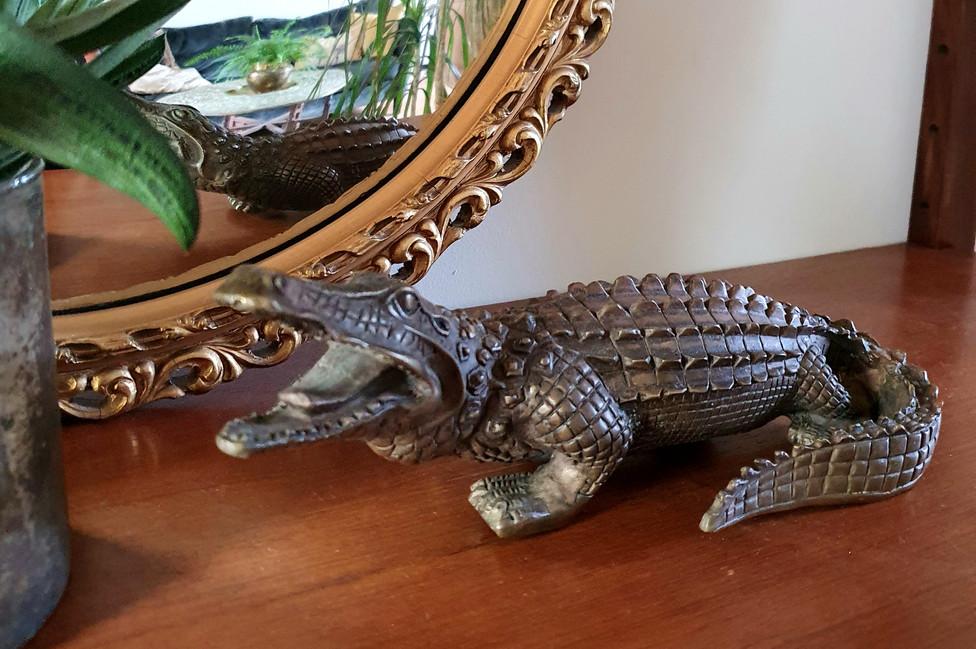 Bronze Crocodile