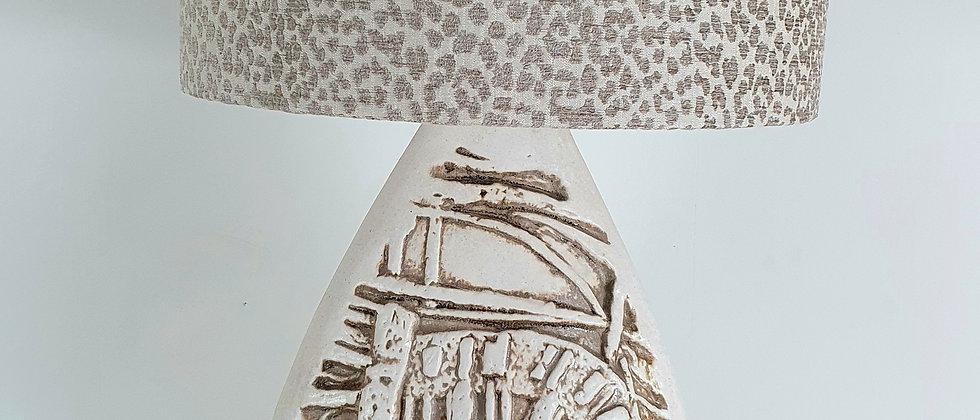 Mid-century Studio Pottery Lamp by Tremaen