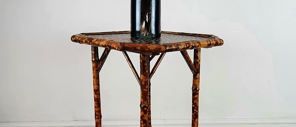 Victorian Aethestic Bamboo Side Table