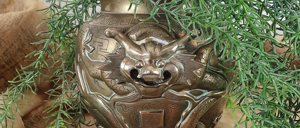 Vintage Japanese Cache Pot