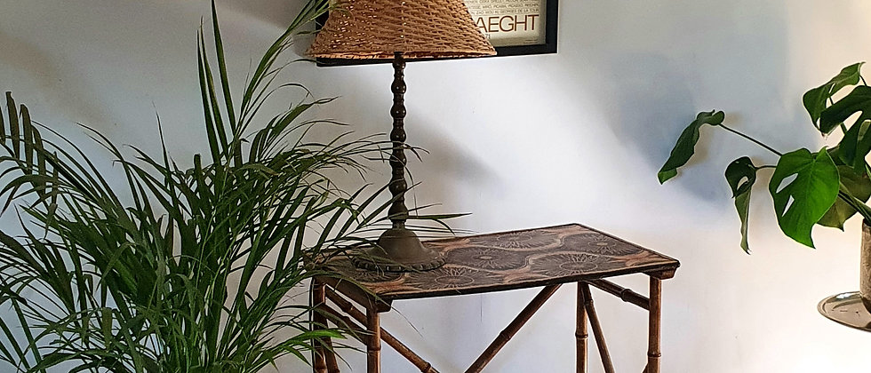 Victorian Aesthetic Bamboo Side Table c.1900