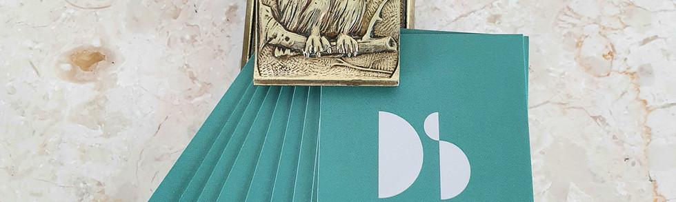Antique Brass Owl Clip