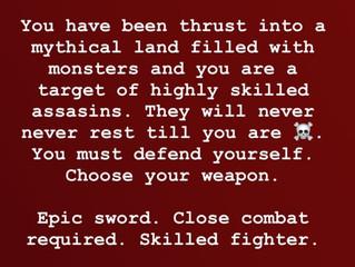 Swordsman or Archer?