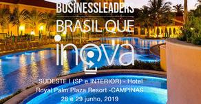 Está chegando o Business Leaders Fórum Campinas - SP