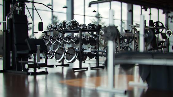 Elizabeth Rosie Gym Closeup - A snap shot from animation
