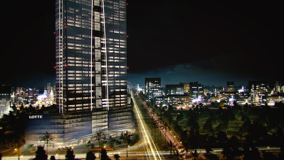 Vietnam Lotte Tower - A snap shot from animation