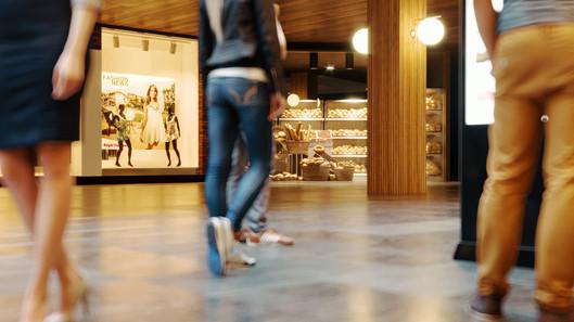 Elizabeth Rosie Mall Floor cut - A snap shot from animation