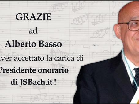 Alberto Basso, presidente onorario