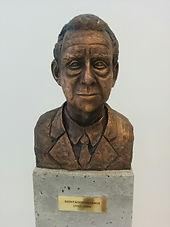 Szentagothai Janos Research Centre statue Csaba Varga neuroscience epilepsy