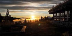Nydelig utsikt fra Finnskogtoppen
