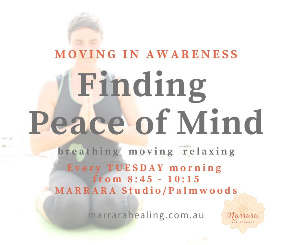 Moving in Awareness