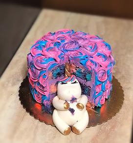 Stuffed Baby Unicorn Cake