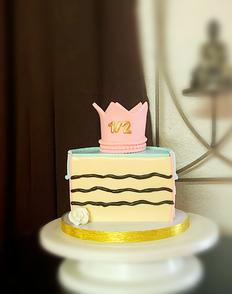 Piece of Cake Princess Themed cake.png