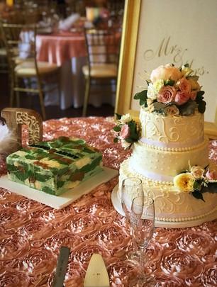 Army Proud themed wedding