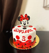 Minnie Mouse themed cake.JPG