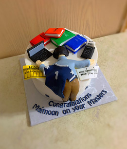 Exhausted Accountant Themed Cake.JPG