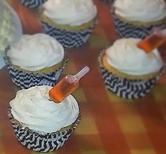 Hennessy Infused Cupcakes