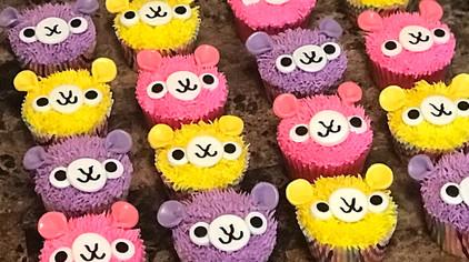 Cute Llama Cupcakes