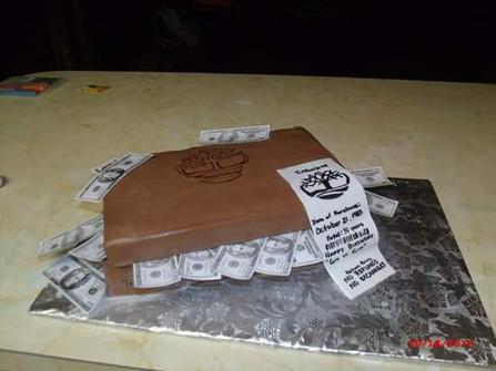 Timberland Shoe Box Cake