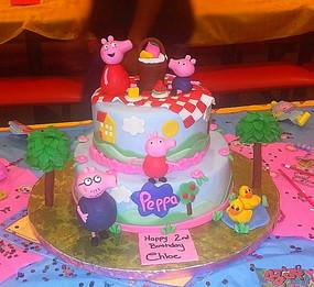 PEPPA PIG CAKE