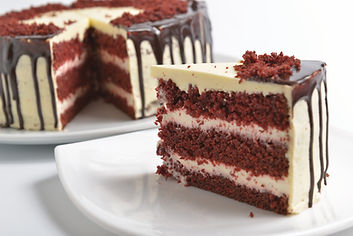 Chocolate fudge cake with vanilla butter