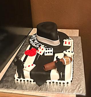 Cuban Themed Cake