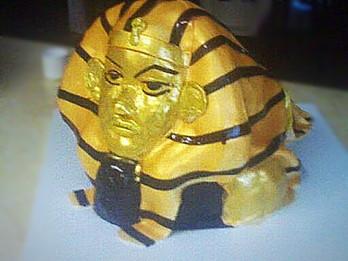 Egyptian Themed Sphynx Cake