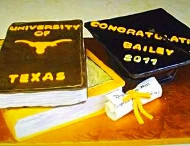 UT Graduation Cake