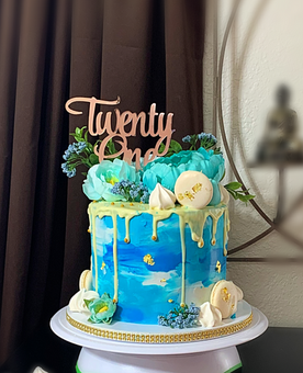 Drip Cake Blue Teal and White.png