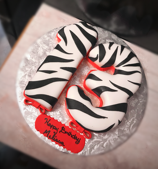 #13 Number Cake