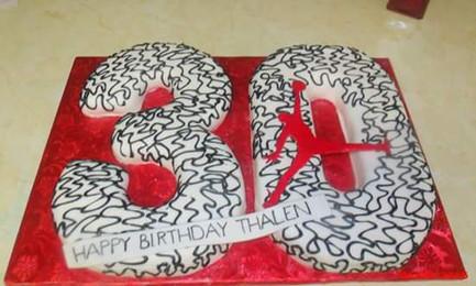 Number Cake Air Jordan