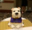 Bulldog Themed Cake