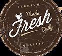 Made fresh daily