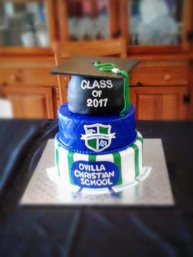 Ovilla Graduation Cake