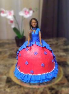 Princess Barbiei Cake