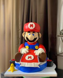MARIO CART 3D Cake.png