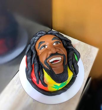 Bob Marley themed cake