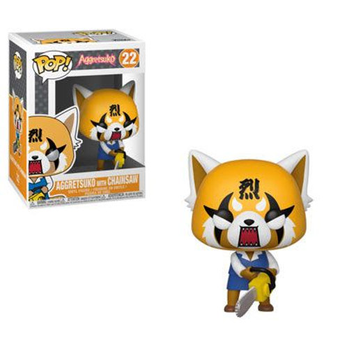 Aggretsuko - Retsuko w/ Chainsaw - Funko Pop