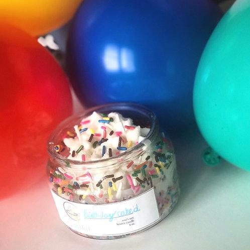 birthday cak'd