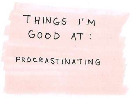 Procrastination: Not Much 'Pro' About It